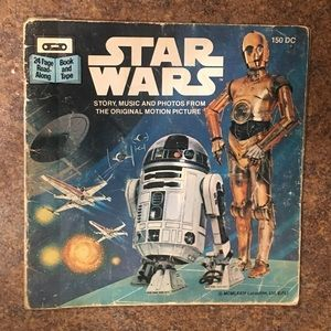 Vintage Star Wars Storybook